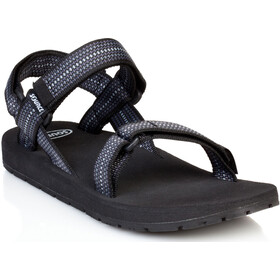 SOURCE Classic Sandalen Heren, chess black